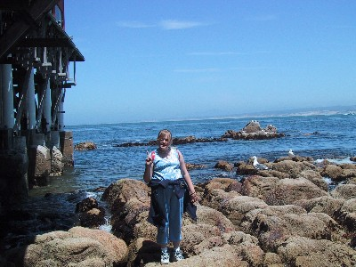 [Picture of Alyssa by Monterey Bay]