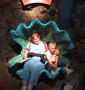 [Picture of Alyssa & Ella in Monterey Bay Aquarium]